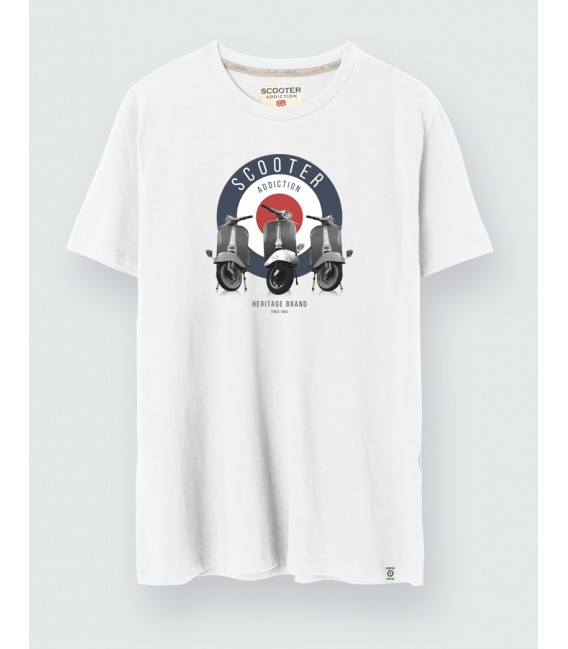 Camiseta Mod Scooter