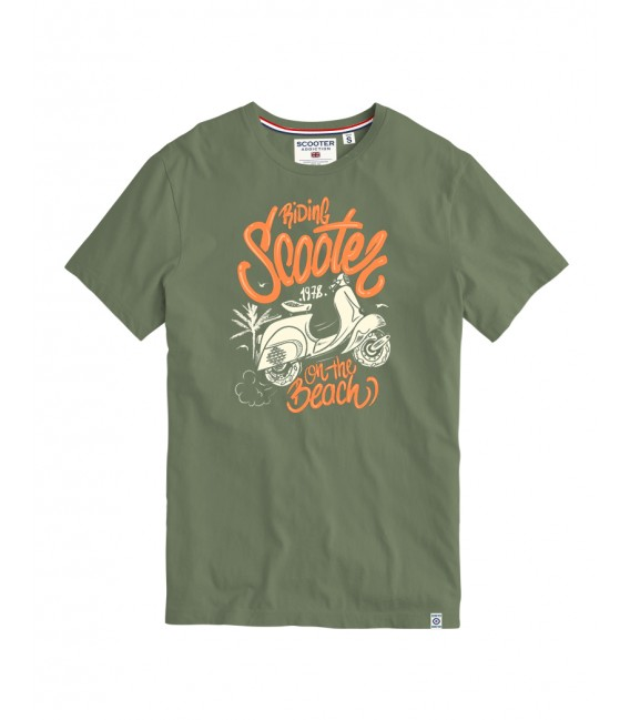 Camiseta Preston Scooter