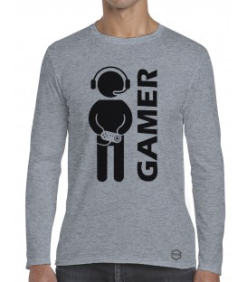 CAMISETA MANGA LARGA GAMER