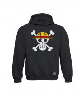 SUDADERA PIRATES  CAPUCHA