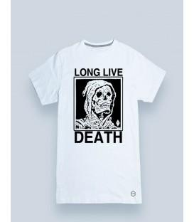 CAMISETA MANGA CORTA LONG LIVE DEATH