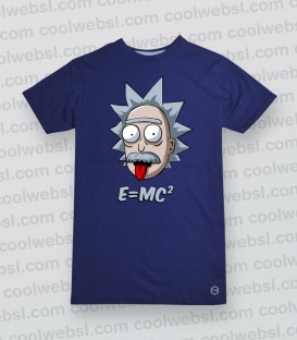CAMISETA MANGA CORTA MORTY EINSTEIN