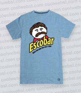 CAMISETA ESCOBAR POP