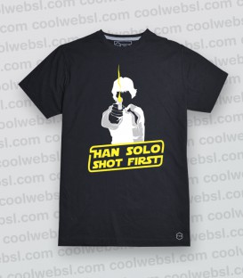 CAMISETA SHOT FIRST