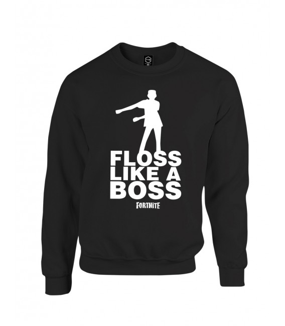 SUDADERA FLOSS LIKE A BOSS