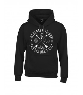 SUDADERA CAPUCHA FRIENDS DON´T LIE