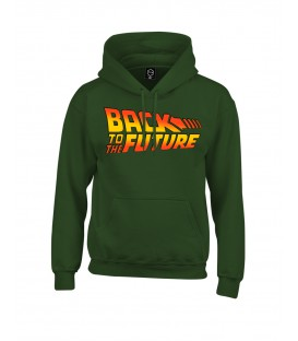 SUDADERA CAPUCHA BACK TO THE FUTURE