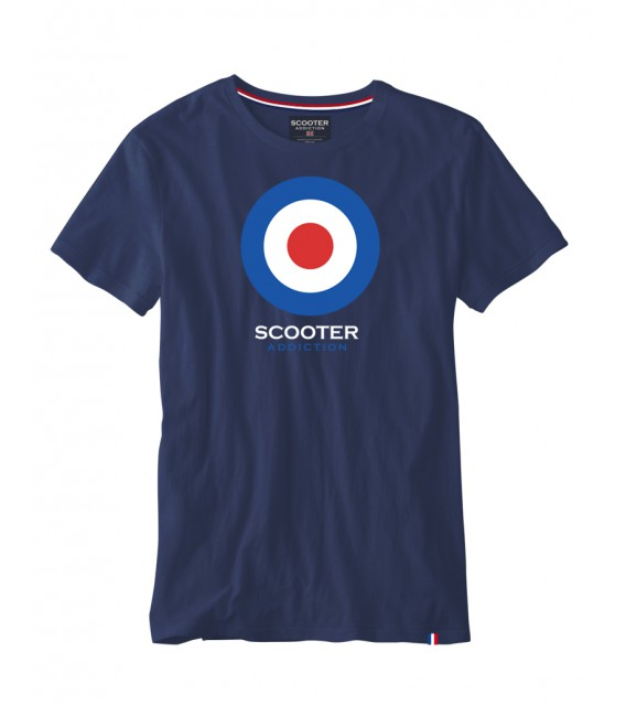 Camiseta básica con logo de Scooter Addiction