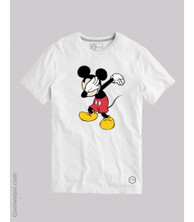 CAMISETA DAB MOUSE BLANCO