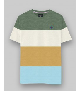 Camiseta Color Block de Scooter Addiction