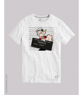 CAMISETA CARTOON POLICE