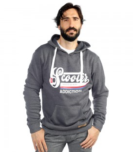 SUDADERA CAPUCHA SCOOTER ADDICTION