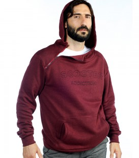 SUDADERA CAPUCHA CREMALLERA SCOOTER ADDICTION