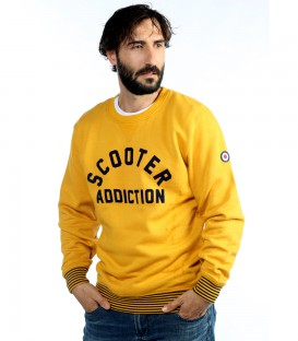 Sudadera con cuello redondo Scooter Addiction