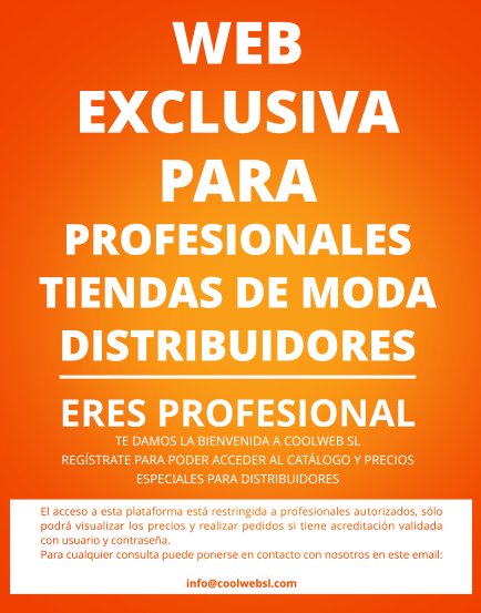 Web exclusiva para profesionales y mayoristas de Moda Coolweb SL