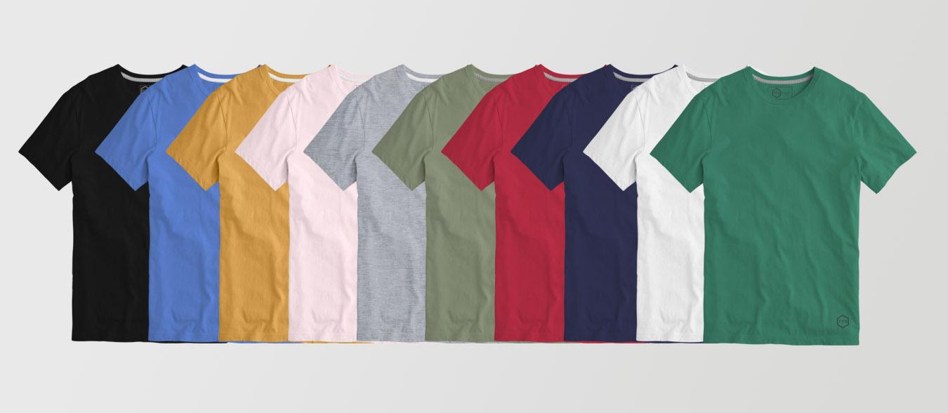 Colorido camiseta tys