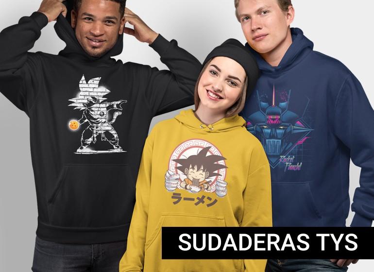 Novedades Sudaderas y Camisetas Marca TYS - Mayorista Coolweb